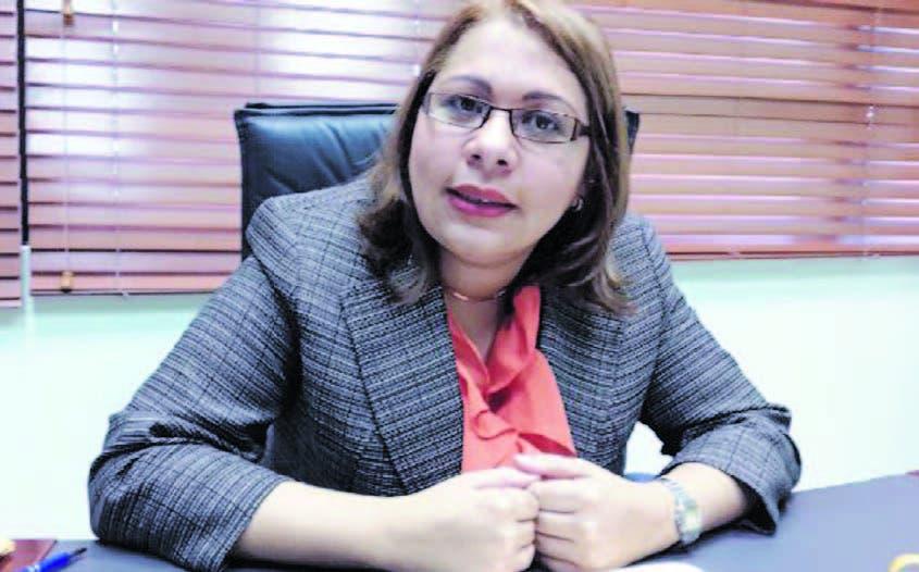 Laura Guerrero Pelletier, directora de la PEPCA.