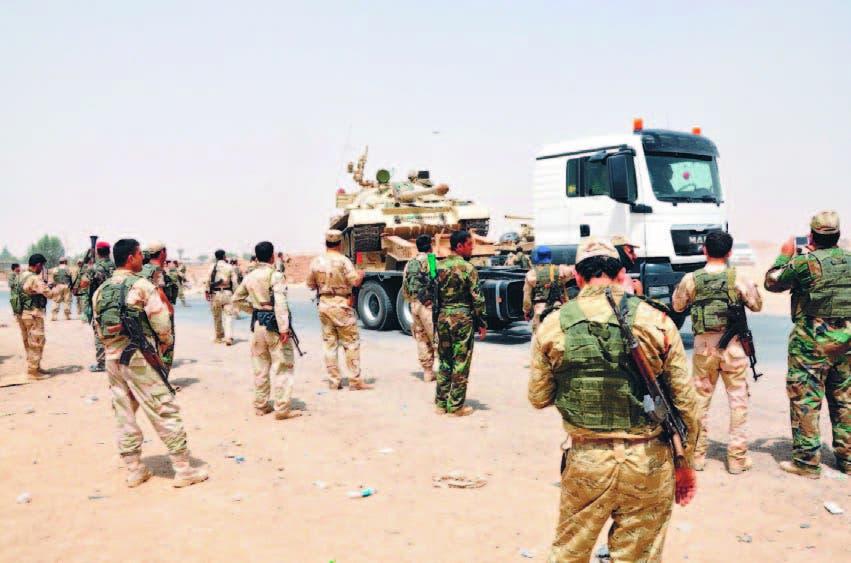 La situación se torna más difícil en Irak y Estados Unidos asegura que no irá a combatir