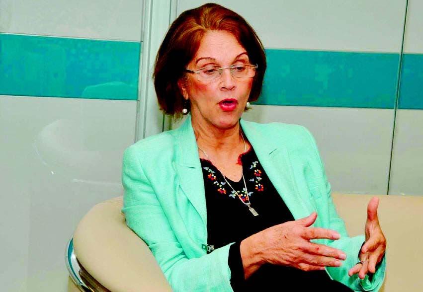 Lourdes Contreras, coordinadora general del CEG- Intec