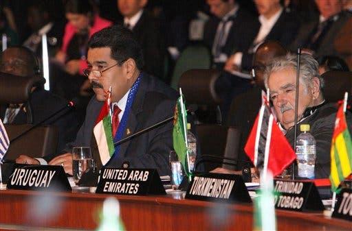 Nicolas Maduro, Jose Mujica