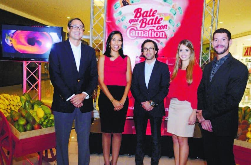 Nelson Peña, Ana Cristina Contreras, Juan Carlos Suárez, Karina González y Rafael Rincón