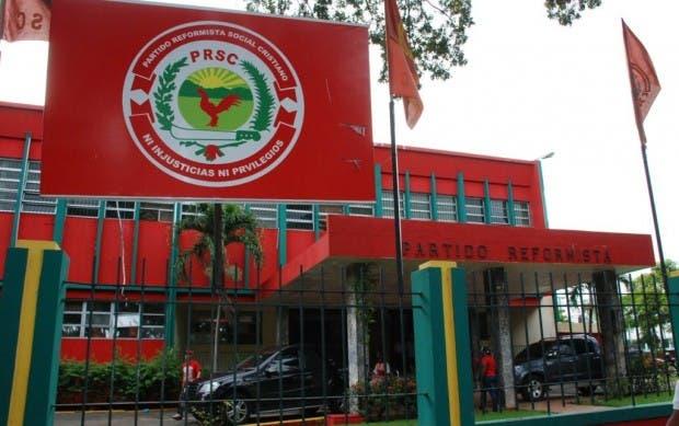 PRSC denuncia grupo pretende apoderarse del partido para ponerlo al servicio del Gobierno