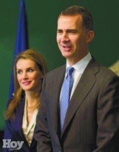 Rey Felipe VI y su esposa Leticia