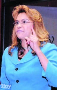 Senadora Sonia Mateo