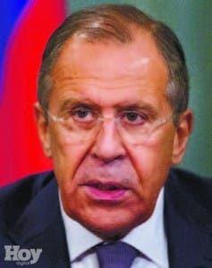 Sergey Lavrov, ministro ruso