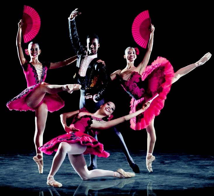 El Ballet Nacional de Cuba, y su directora Alicia Alonso, fuente externa