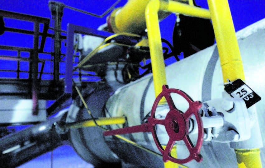 Planta de gas natural. Archivo.