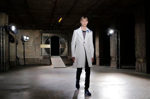 APTOPIX Paris Fashion Raf Simons