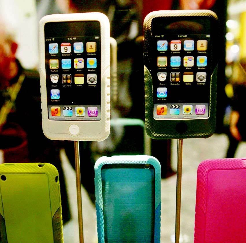 Están preocupados por los iPhones hechos por Apple, y los teléfonos Galaxy de Samsung Electronicos
