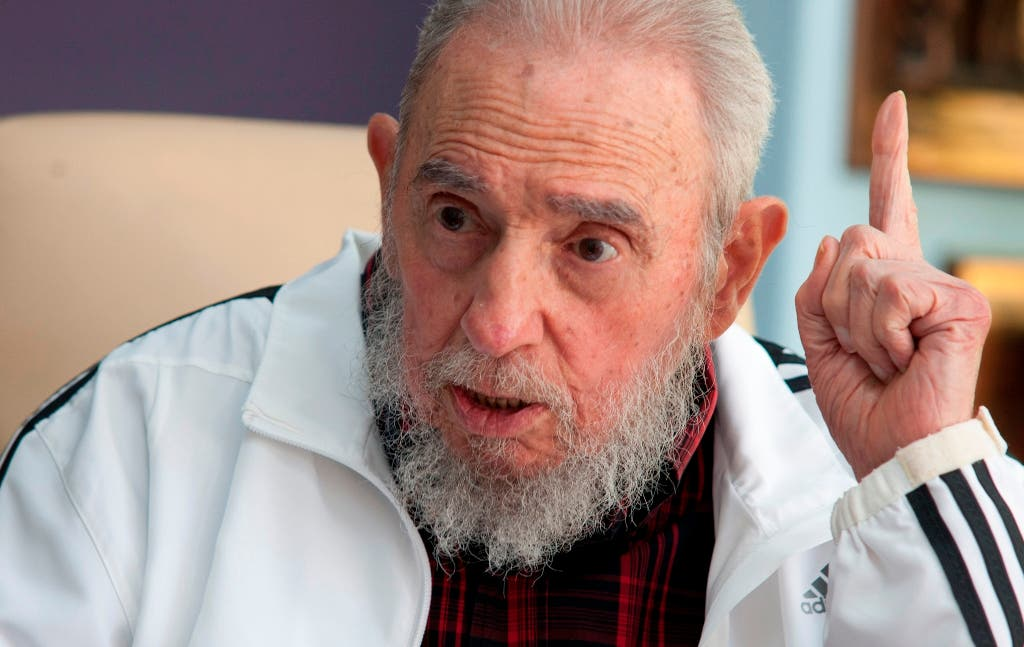 Fidel Castro dice Israel practica holocausto y genocidio contra palestinos en Gaza
