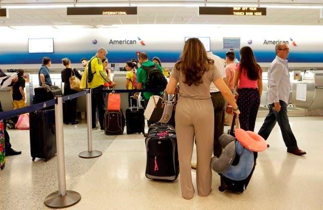 Lista de los vuelos cancelados por huracán María