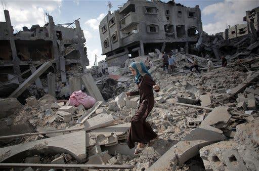 Más de 1,300 muertos y 7 mil heridos en Gaza desde inicio ofensiva