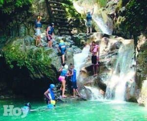 Saltos Damajagua logra un nuevo récord de visitas
