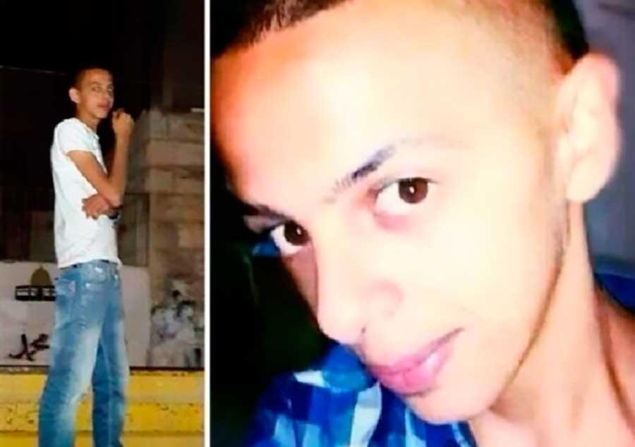 adolescente palestino