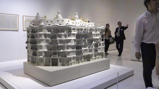 El manga de Takehiko Inoue se sumerge en la mirada de Gaudí