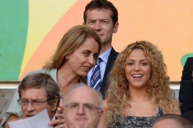 Shakira dice su suegra, la madre de Piqué, la presiona a tener bebés