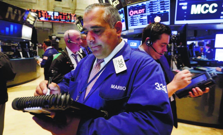 Página de Bloomberg. Alza récord impulsa el mercado accionario de Estados Unidos