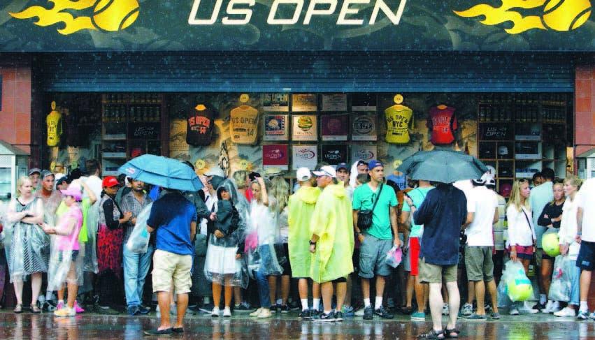 Fuertes tormentas EU afectan aeropuertos, actos al aire libre