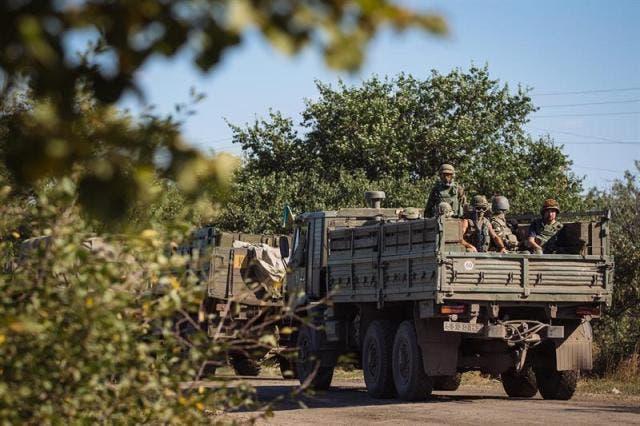 Kiev asegura que ha capturado dos blindados rusos en el este de Ucrania