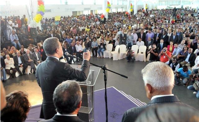 Leonel afirma PLD ha utilizado mayoría legislativa para transformar el país