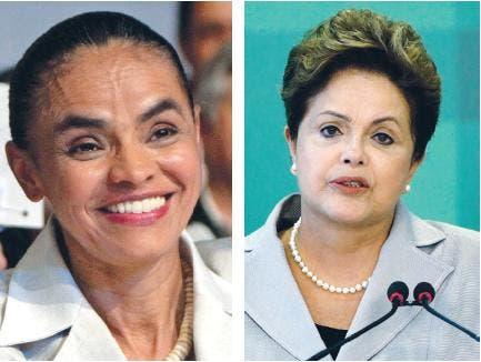 Encuesta: Marina alcanza a Dilma