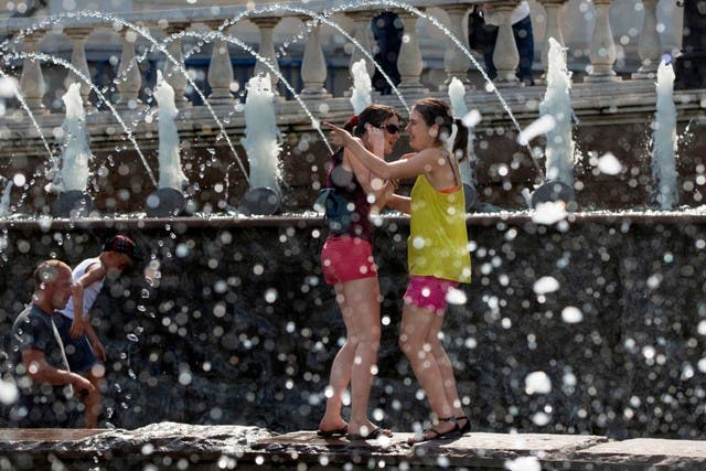 La Onamet prevé lluvias y calor para el fin de semana