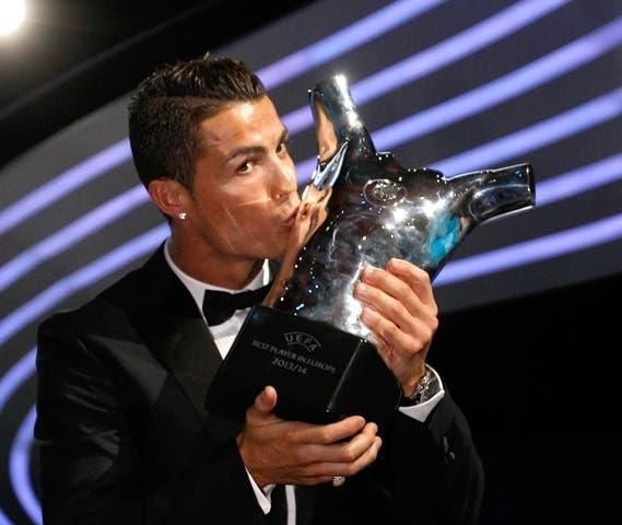 Cristiano Ronaldo, elegido mejor jugador UEFA