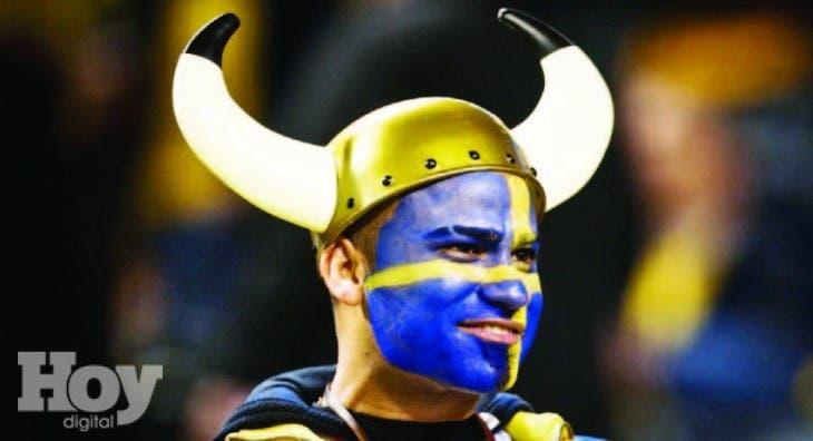 Seleccion Futbol Suecia de Fútbol de Suecia Anima