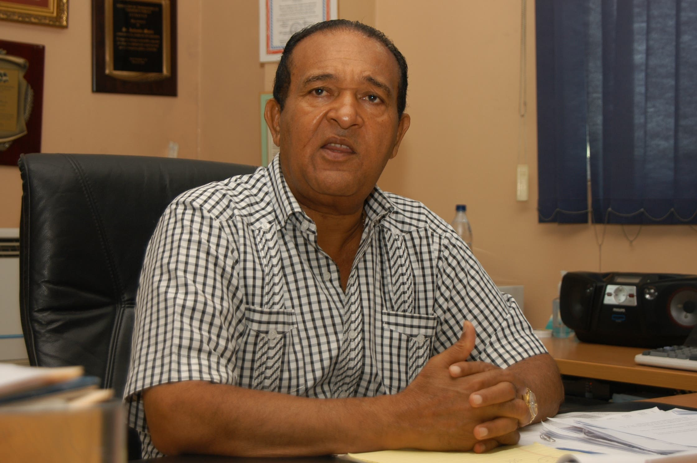 Antonio Marte acusa al Gobierno de no priorizar alimentación