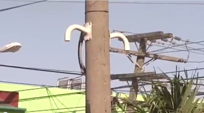 Sistema 9-1-1 desmiente que cámaras instaladas en Lucerna fueran robadas