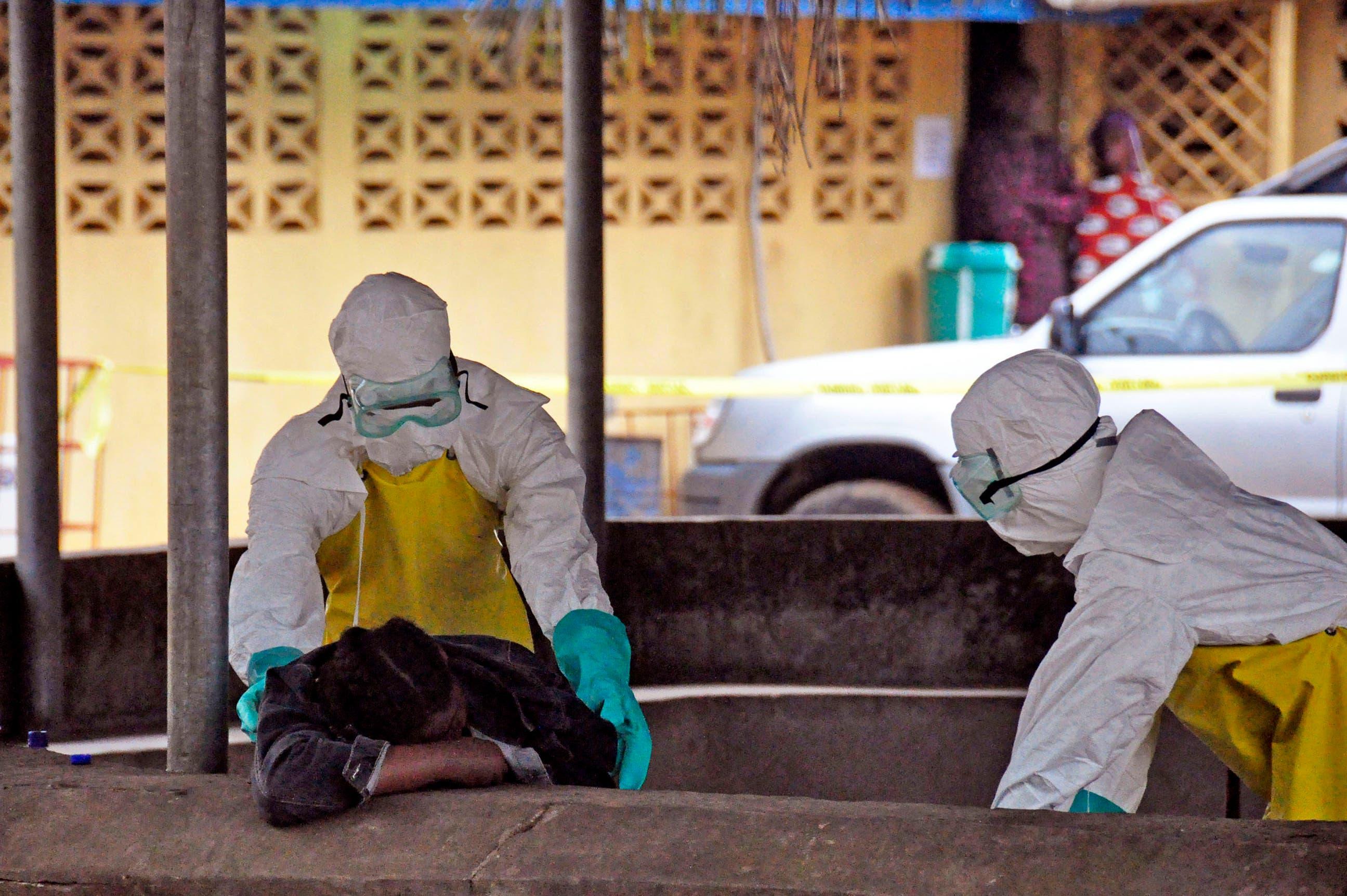 Cerca de 20 personas tuvieron contacto con el paciente con ébola en EEUU
