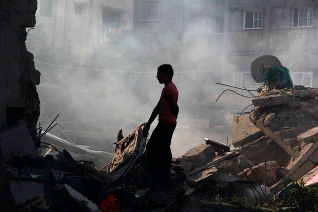 Gaza afronta su tercera reconstrucción en apenas seis años