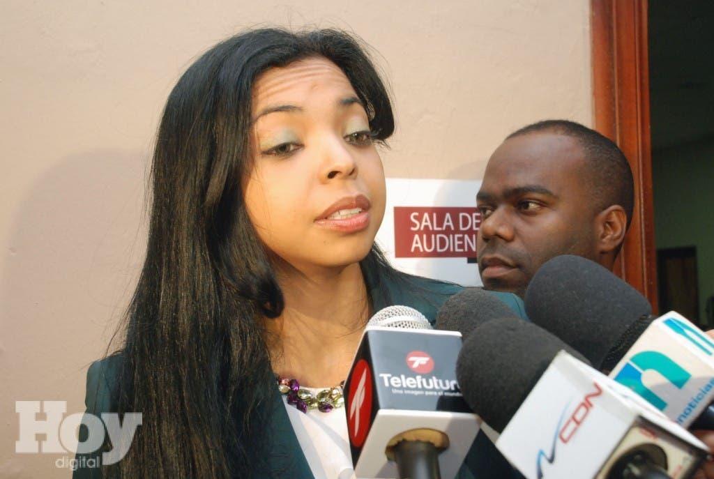 La fiscal del Distrito Nacional, Yeni Berenice Reynoso. Archivo.