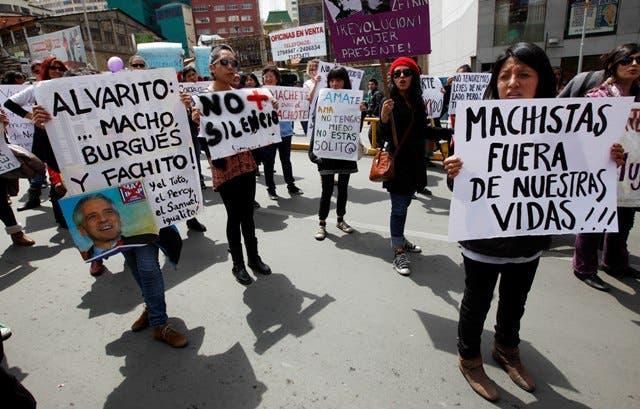 Las bolivianas en pie de guerra por la politización de la violencia machista