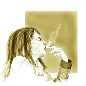 Placer de fumar