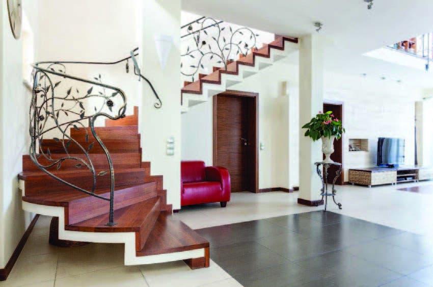 Existen muchas opciones para integrar a la escalera como parte de la decoración de tus espacios