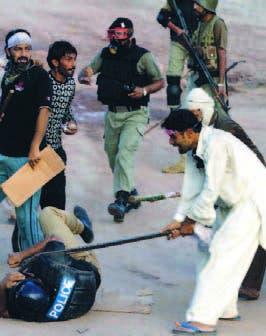 Se intensifican protestas Pakistán y crece el caos