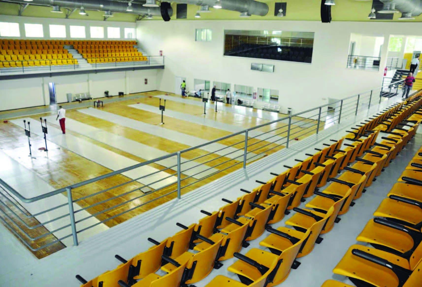 Pabellón de Esgrima una instalación en excelentes condiciones