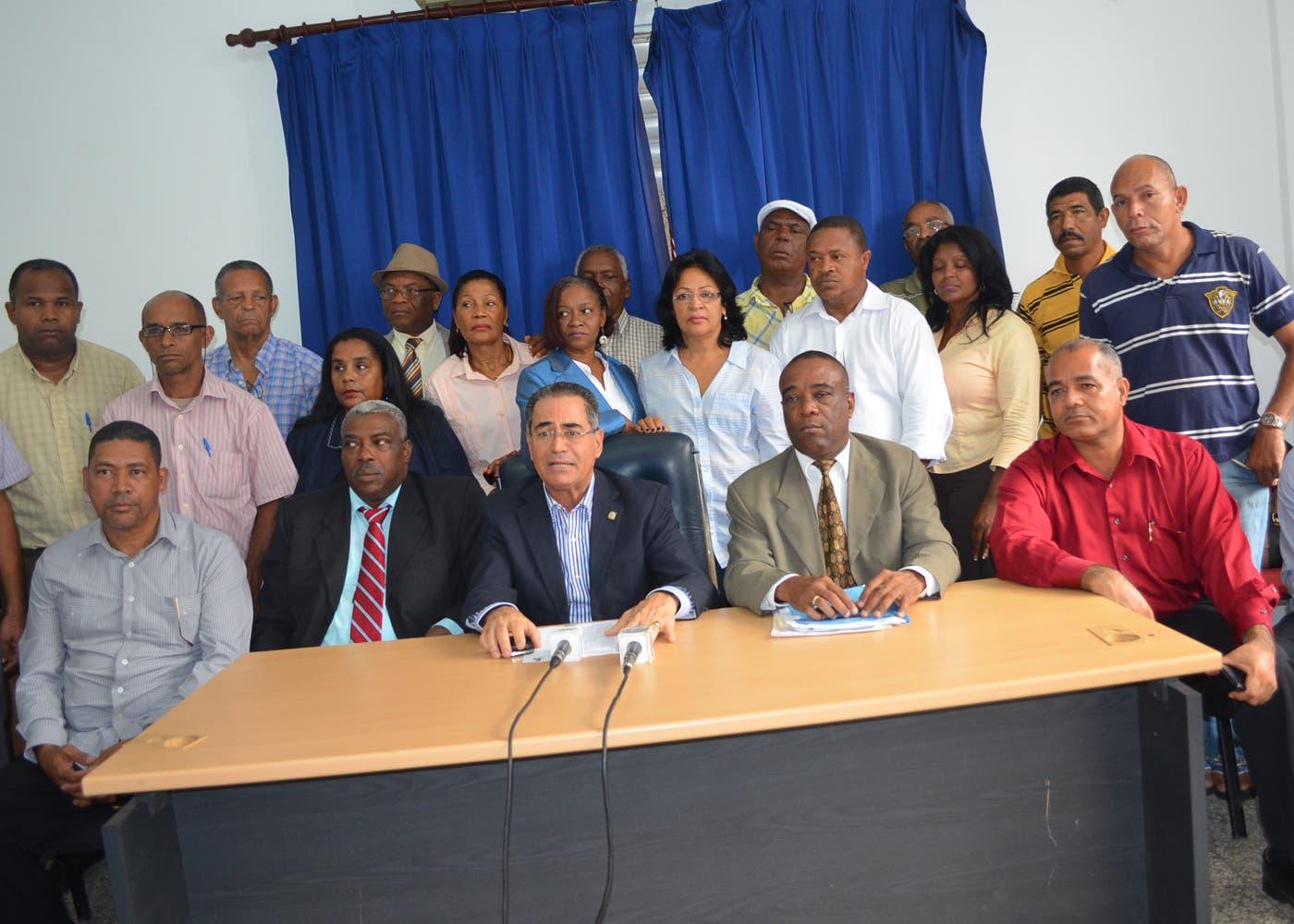 El PRM va para la calle a protestar a favor de Loma Miranda