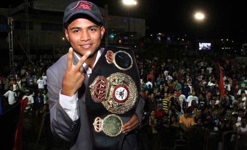 Nicaragua celebra triunfo de campeón González ante japonés Yaegashi