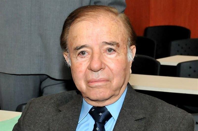 Disparan contra la casa de un hijo del expresidente argentino Carlos Menem