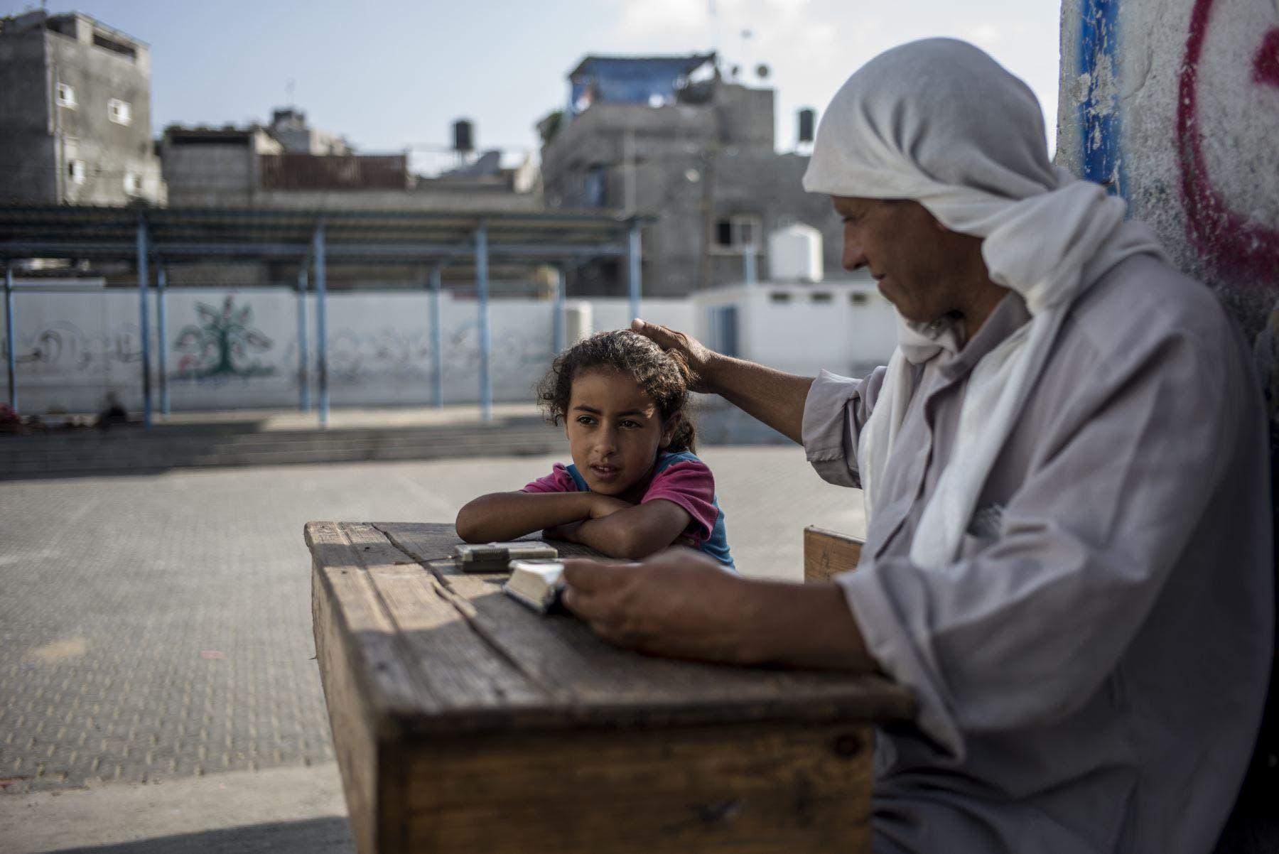 Medio millón de niños en Gaza vuelven a clase