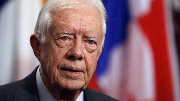 "Jimmy Carter dijo que Estados Unidos está experimentando un ""resurgimiento de racismo""."