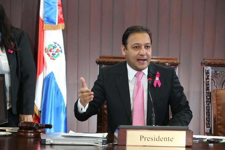 Presidente Cámara de Diputados, Abel Martínez.