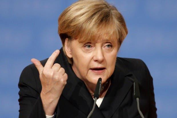 Ángela Merkel, fuente externa.