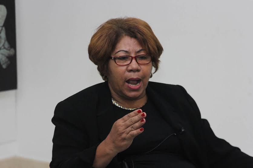 Ana Vertilia Cabrera, presidenta Amas de Casa.
