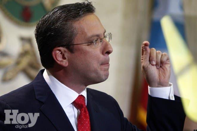 El gobernador de Puerto Rico, Alejandro García Padilla. Foto/AP/Ricardo Arduengo.