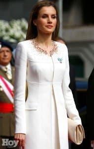 La reina Letizia.  fuente externa