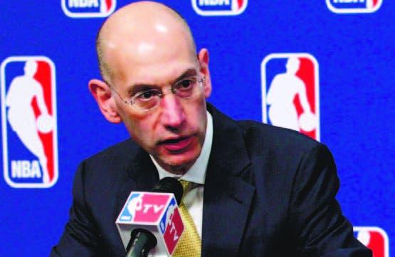 Adam Silver, comisionado de la NBA, archivo