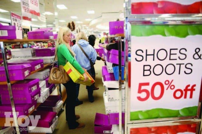 l gasto personal de los consumidores en Estados Unidos aumentó en junio un 0,2 %, archivo